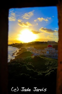 Sunrise over Puerto Rico